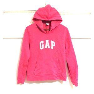 GAP Kids Logo Pink Sweatshirt Pullover Hoodie